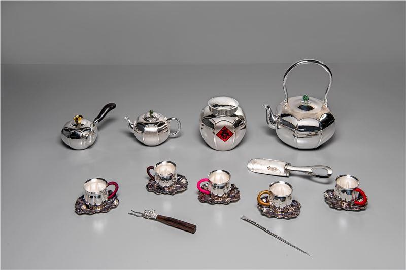 八寶蓮荷葉泡茶組