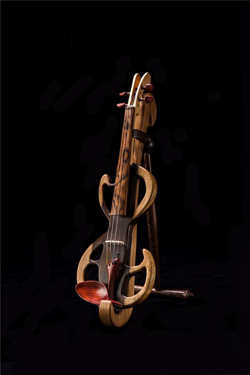 電子小提琴與琴架組