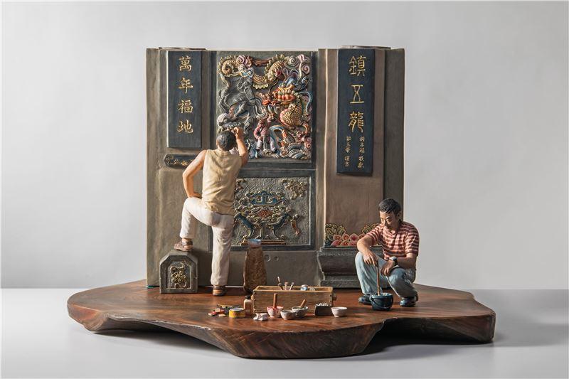 臺灣傳統彩繪之美