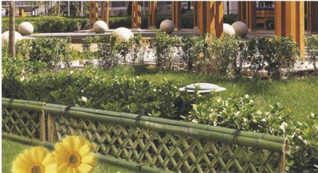中矮籬-透空式竹籬