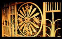 竹管家具作品