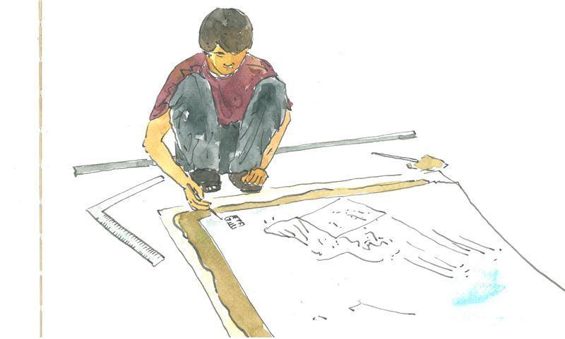 「山茶花演義」~ 文學陶板裝飾技藝之培訓