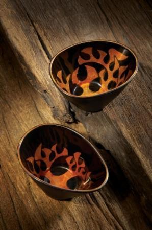 蔓草銀紋杯盤組