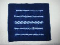 縫紮染-捲針縫
