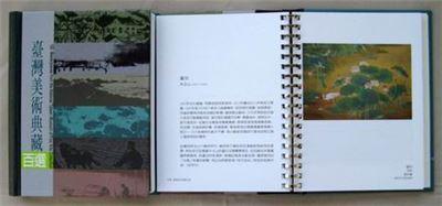 臺灣美術典藏百選(附光碟)