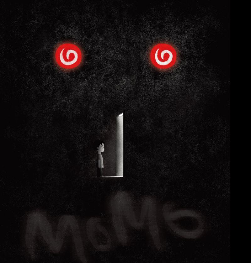 闇黑世界「Momo默默」—青少年反毒愛藝動畫秘笈