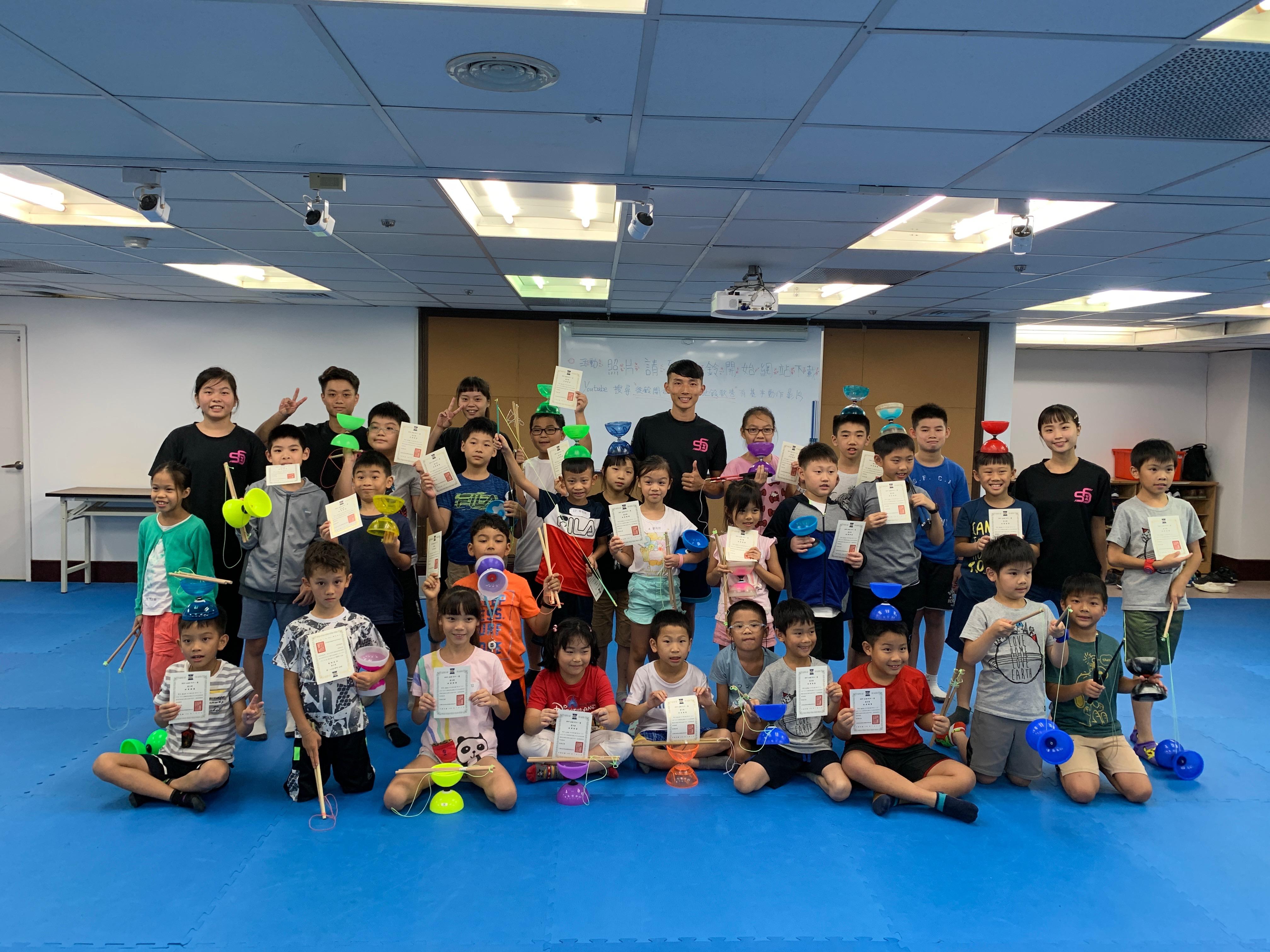 20190705兒童夏令營-扯鈴FUN一夏