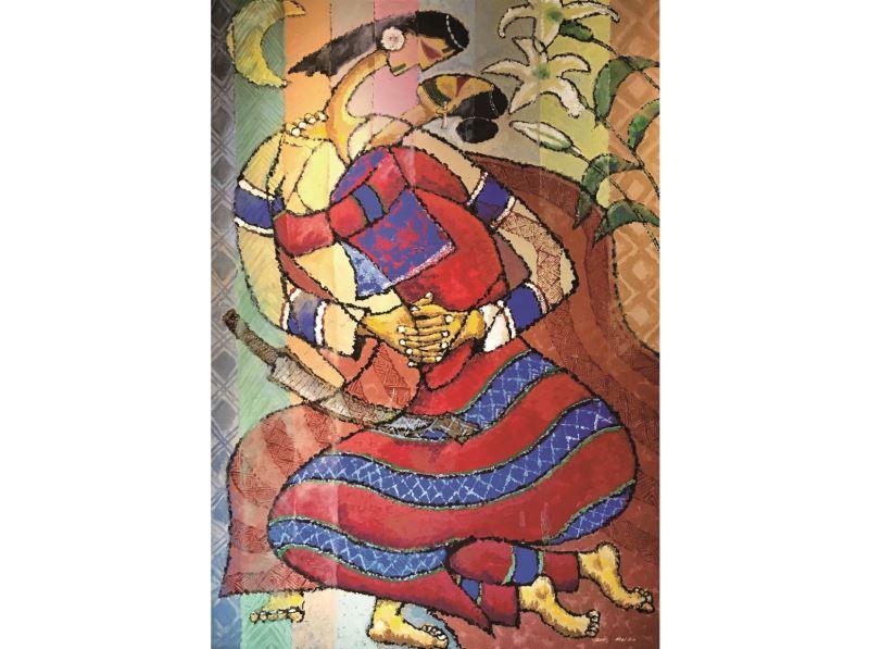 20181122-20190317「山‧海靈境—Malang 美的釋放」原住民族當代藝術展 美卡瓦歷斯 永恆