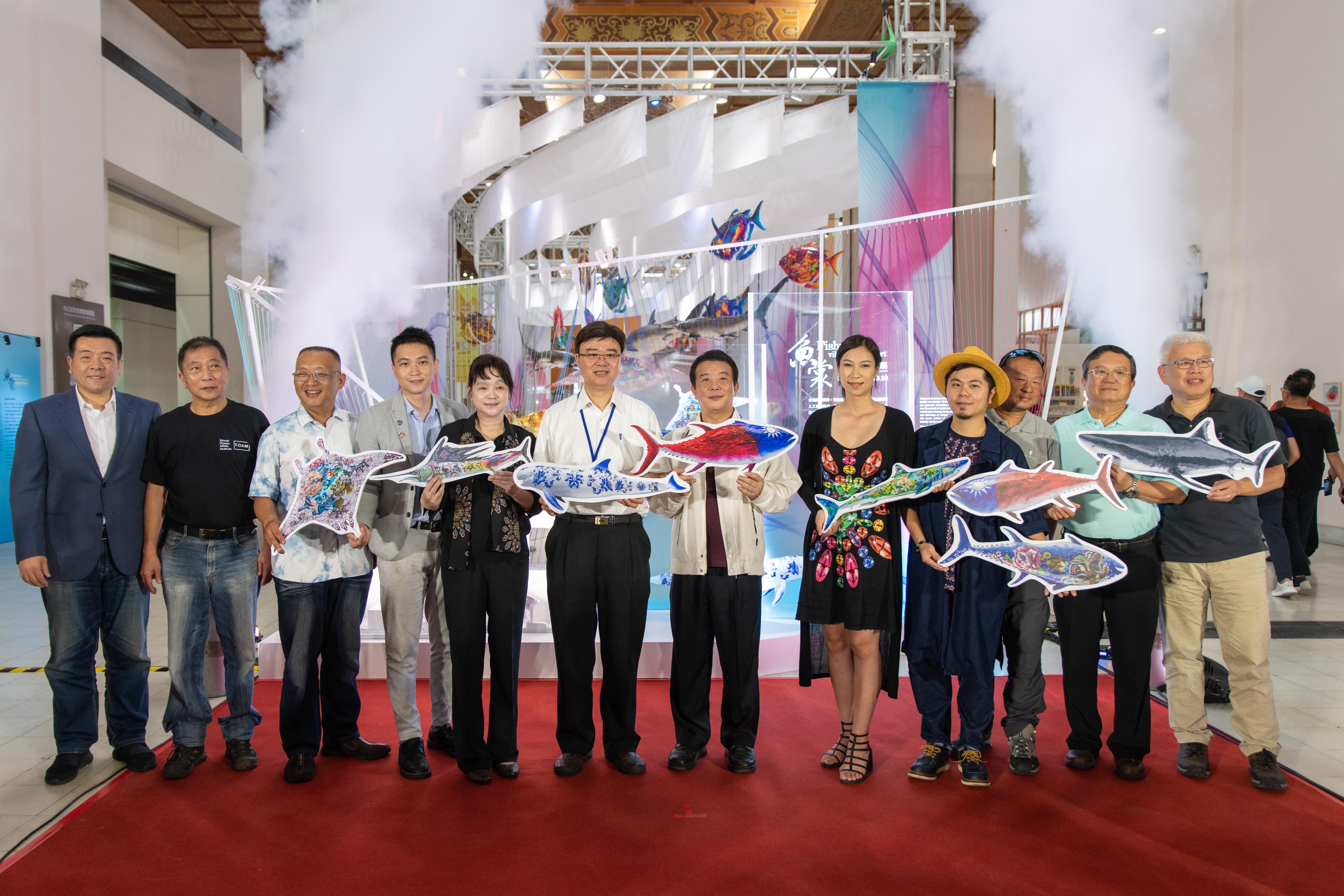20190628-20191030 Fishwear- Vibrant Ocean Art opening