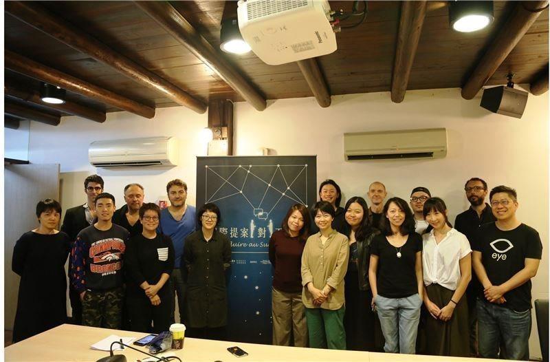 第三屆國際提案一對一工作坊第二階段「劇本追蹤指導」課程
