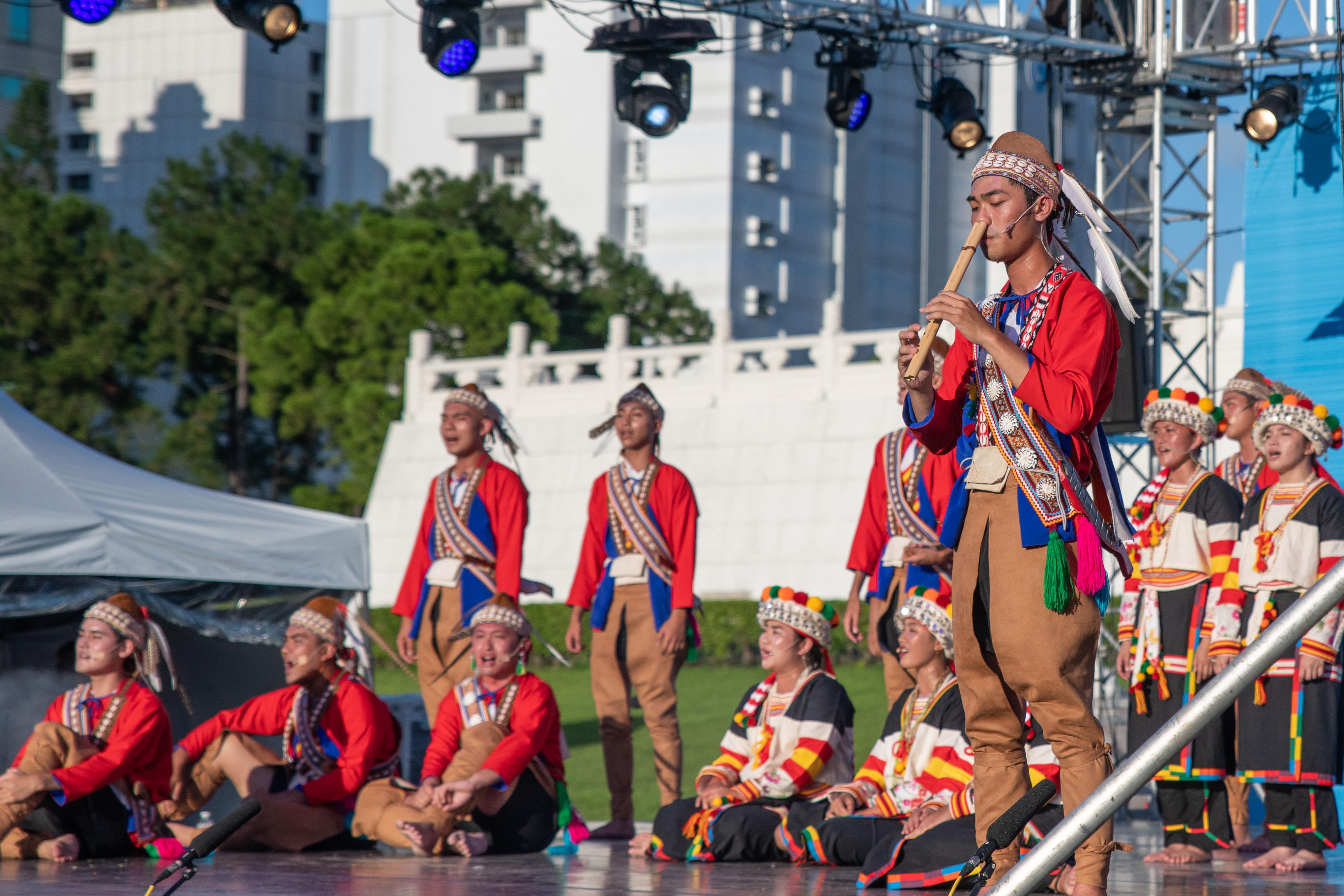 20190801原住民表演藝術「足跡」-東華大學原住民族學院舞團演出
