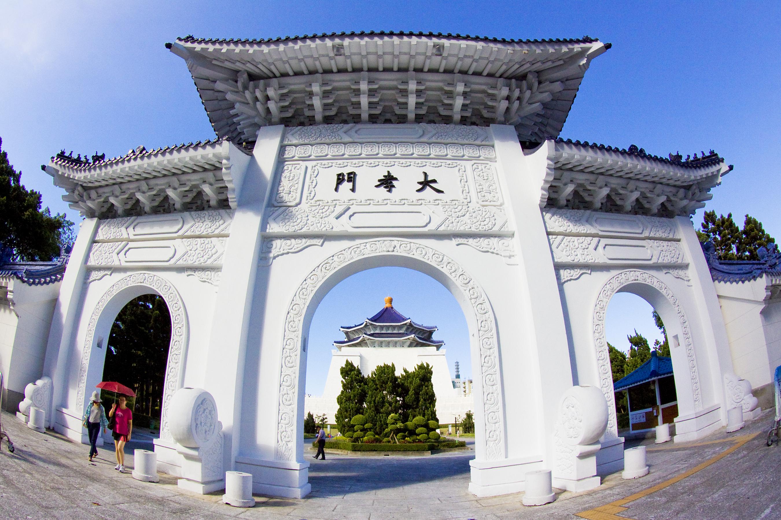 大孝門景觀(李梅足攝)