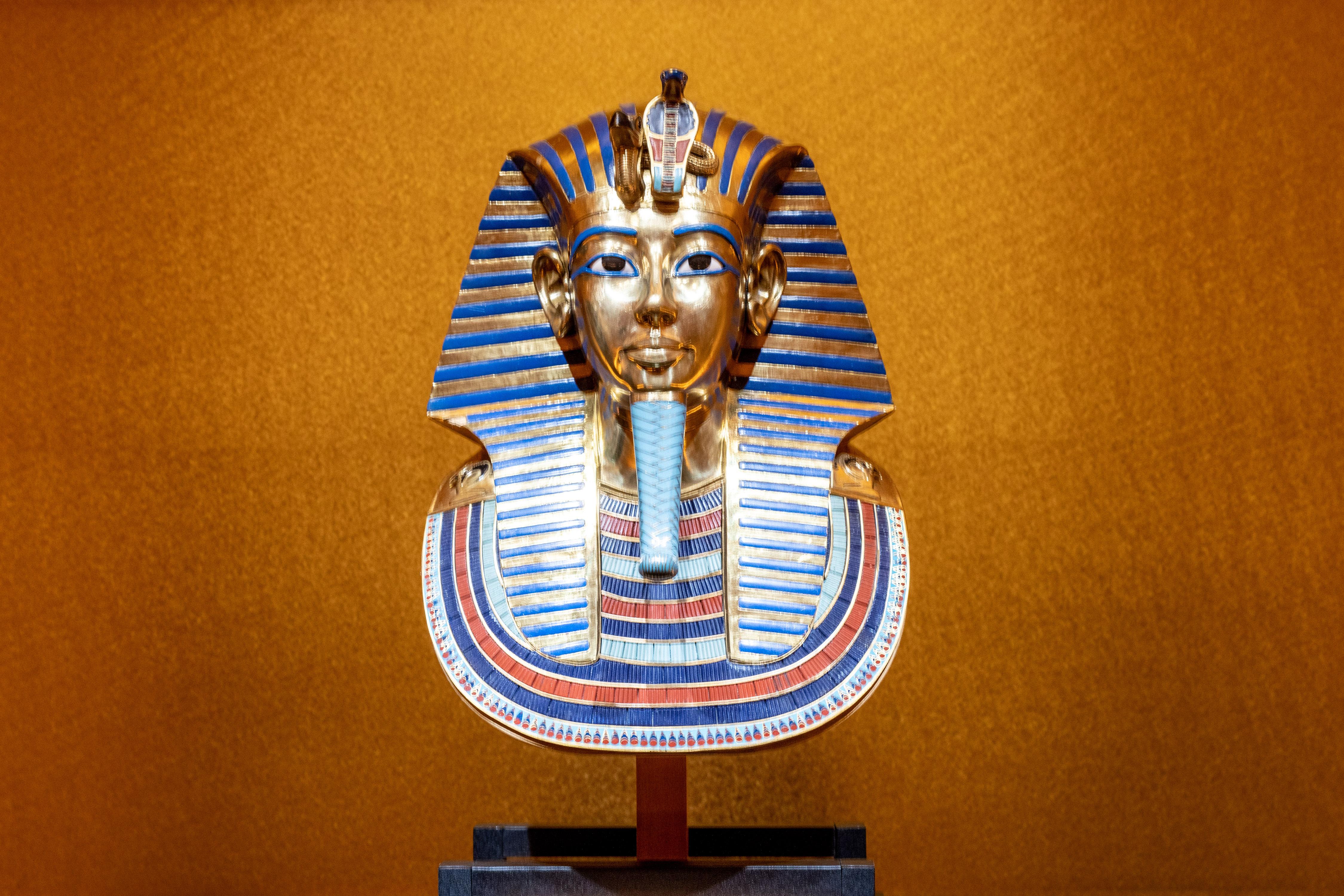 20200117-20200405圖坦卡門-法老王的黃金寶藏特展 圖坦卡門像