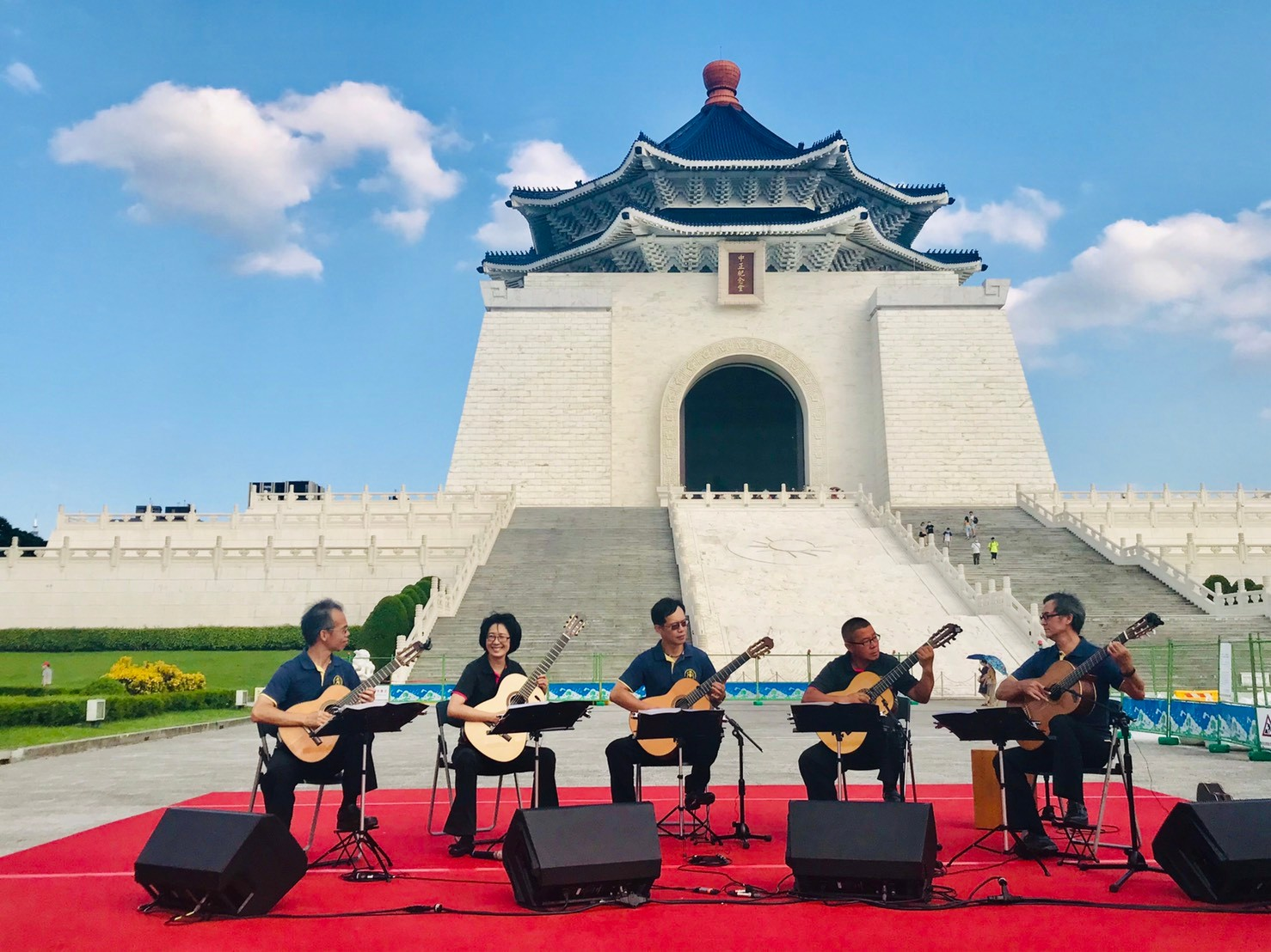 20200905民主大道藝文表演-優力客吉他室內樂團