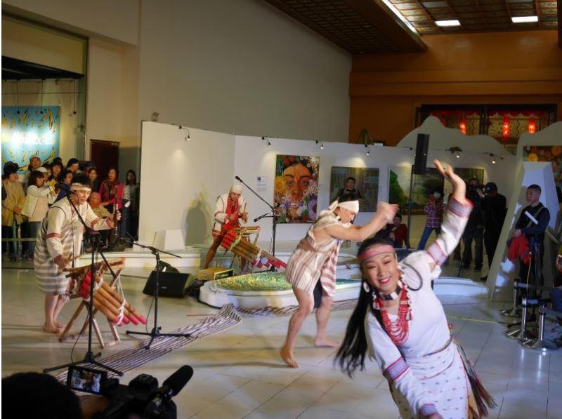 20181122-20190317「山‧海靈境—Malang 美的釋放」原住民族當代藝術展