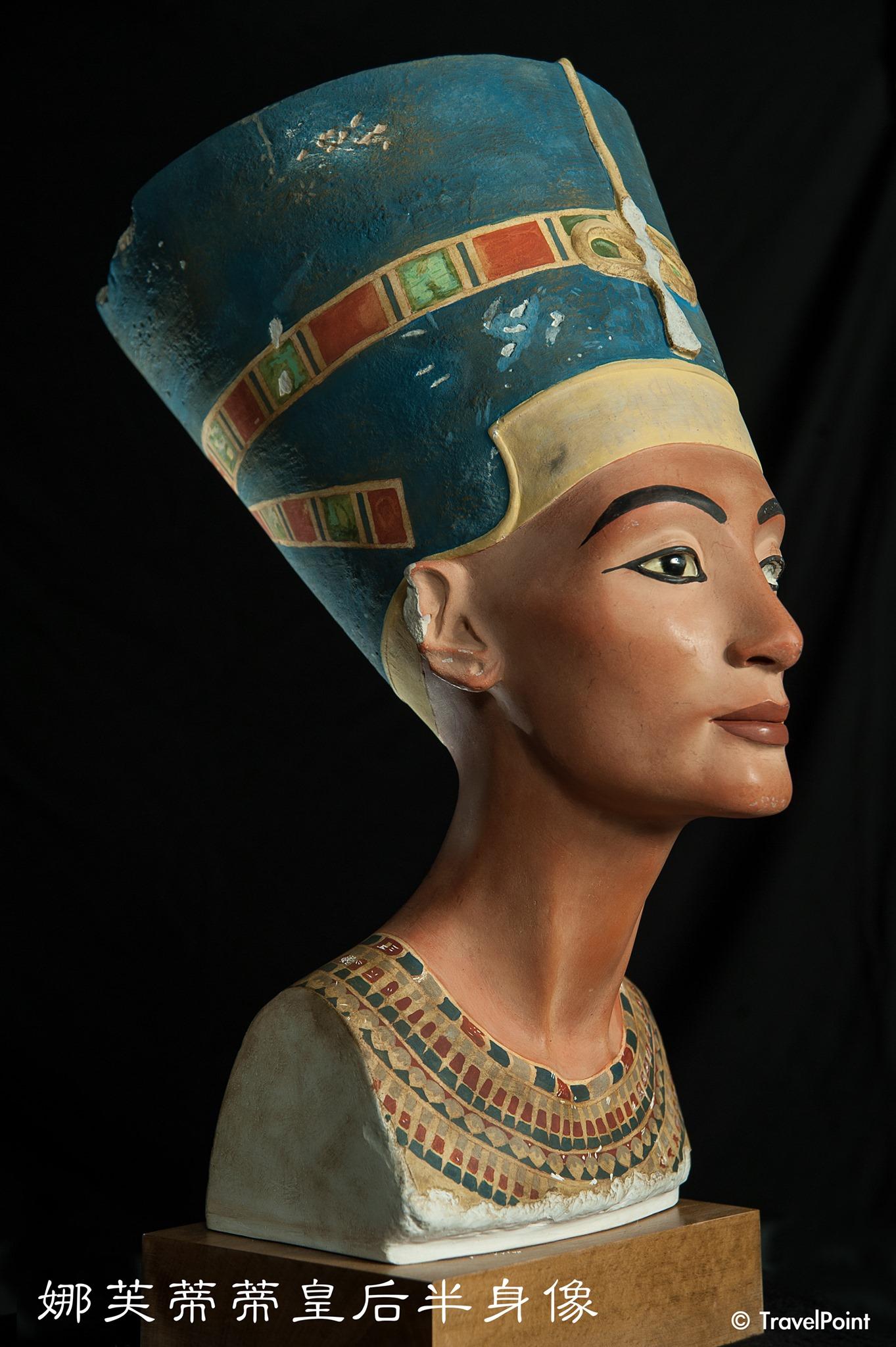 20200117-20200405圖坦卡門-法老王的黃金寶藏特展 娜芙蒂蒂皇后半身像