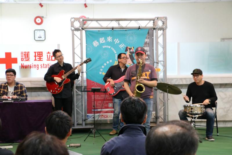 20181208藝起來中正-Matrix Jazz Band