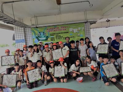 2017嘉義東石黏酷獸教育活動