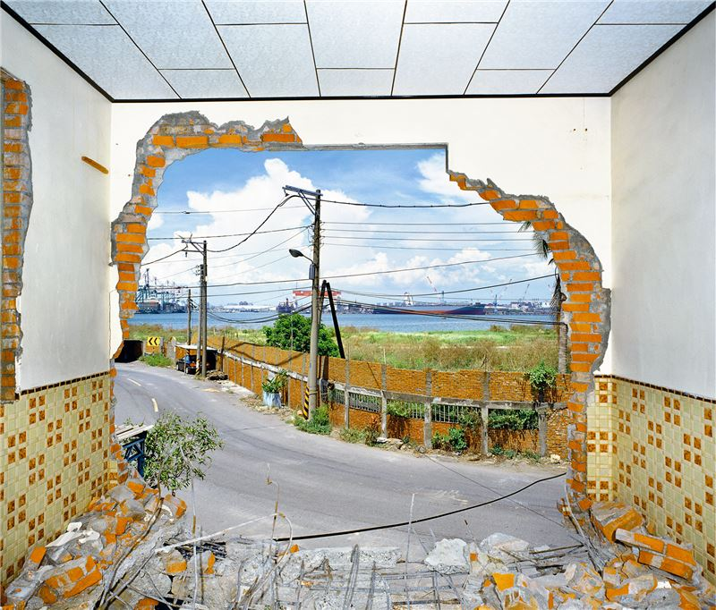 窗景(高雄 紅毛港 海汕3路236-3號-李啟川宅)