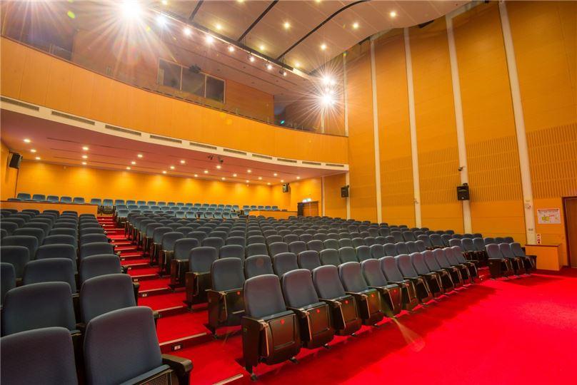 基於防疫需要,演藝廳表演藝術暫停辦理。