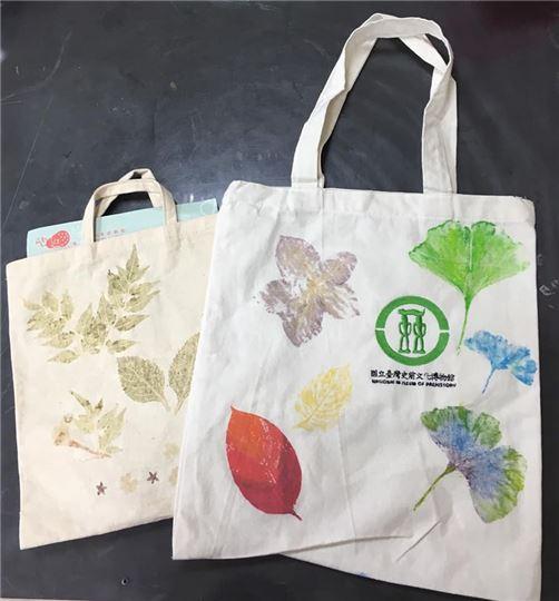 新時袋-植物拓印