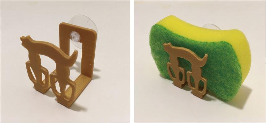 3D列印的日常-人獸形玉玦菜瓜布架體驗活動