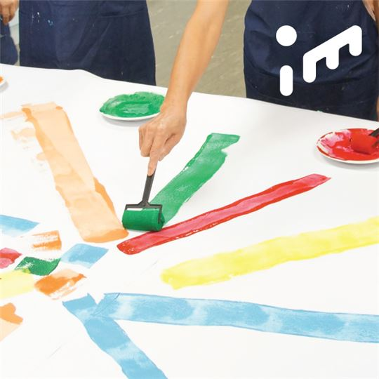 「我在!」創齡工作坊㇐失智家庭共學場