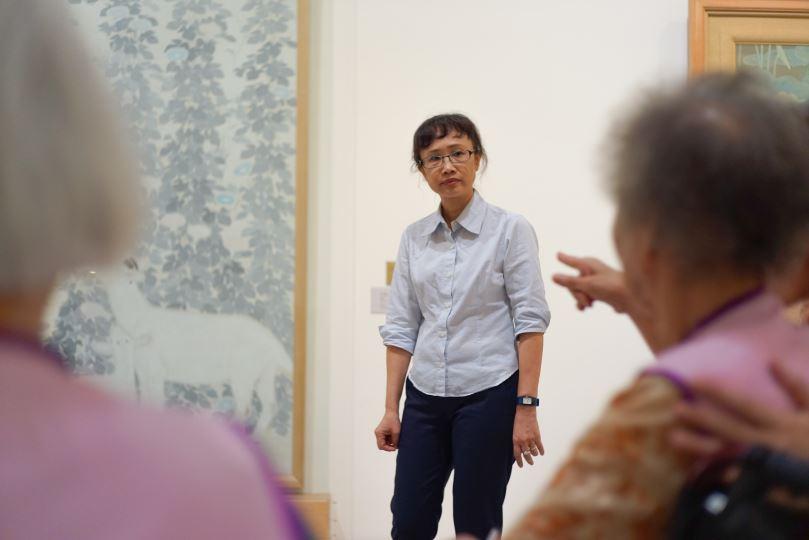 「老當藝壯—美術館與我們  親子共學工作坊」(限家有失智長輩的家庭兩人組報名)