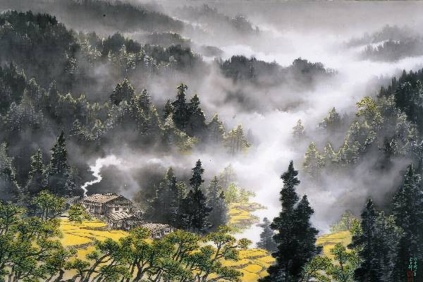 Reflection of Landscape and Mind — Chang Shan-xi Ink Painting Exhibition