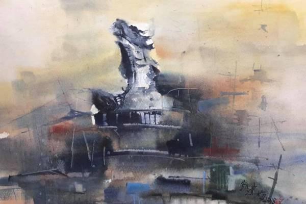 Watercolor Aqua art-Tsai Lianmei's creation exhibition