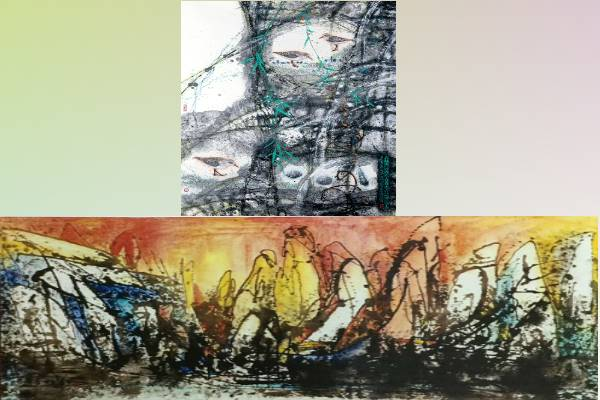 Moker group Painting Exhibition