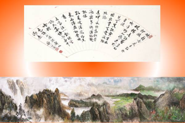 Members Joint Display by Chinese National Female Painters Association