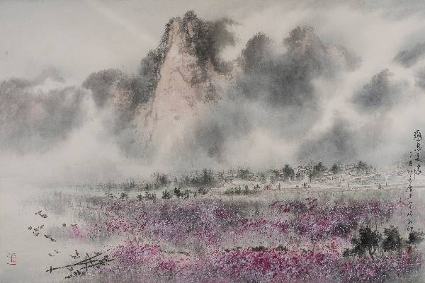 Lingnan School—Sung Rui-he Color Ink Painting Exhibition