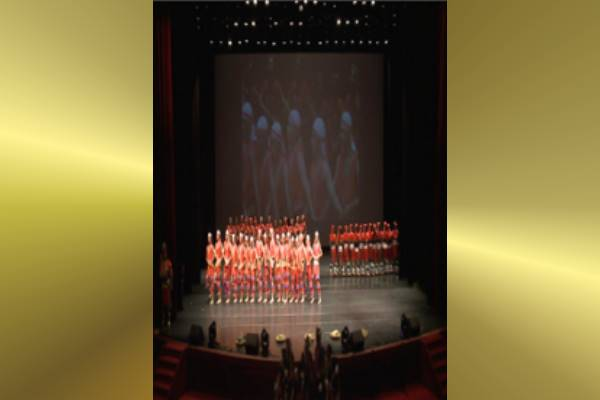 Graduation United Performance by Juang Jing Vocational High School