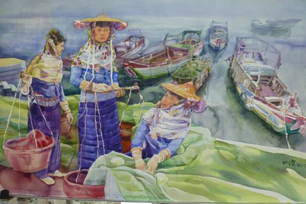 Chance Encounters in My Life- Lin Jenchieh's Watercolors