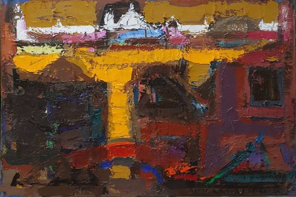 Huang Yung-he West Painting Solo Exhibition