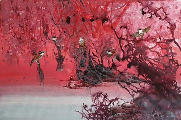 Liu Jeng-fa Color Ink Solo Exhibition