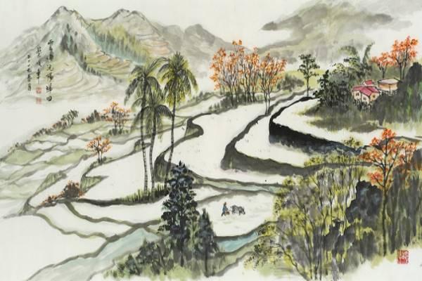 Tsai Chun-chang Ink Painting Solo Exhibition