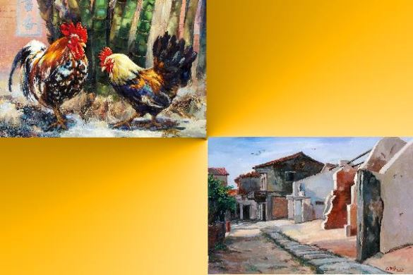 中華民國跨世紀油畫研究會22週年大展