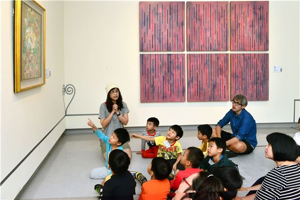 103年度「肯定與接納的藝術行動」泛自閉症幼童藝術治療工作坊