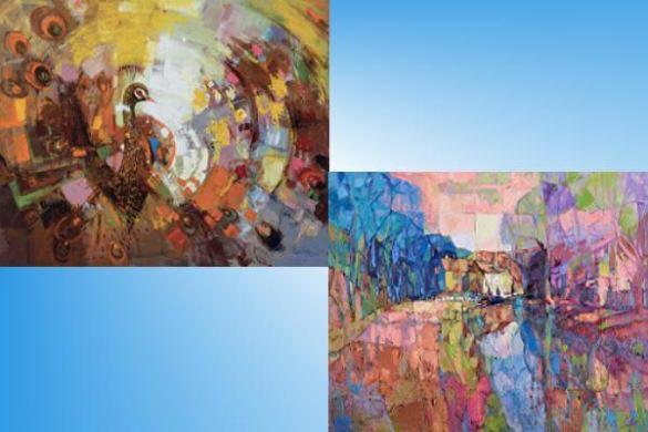 謝蘭英油彩創作展