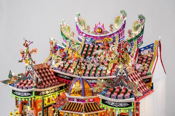 Palace Paradis   Offrandes funéraires en papier de Taiwan au Musée du quai Branly