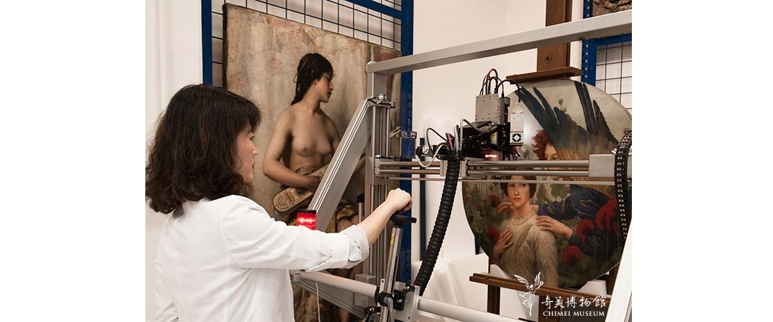 Chimei Museum showcases behind-the-scenes of technical art history researchopennewwindow