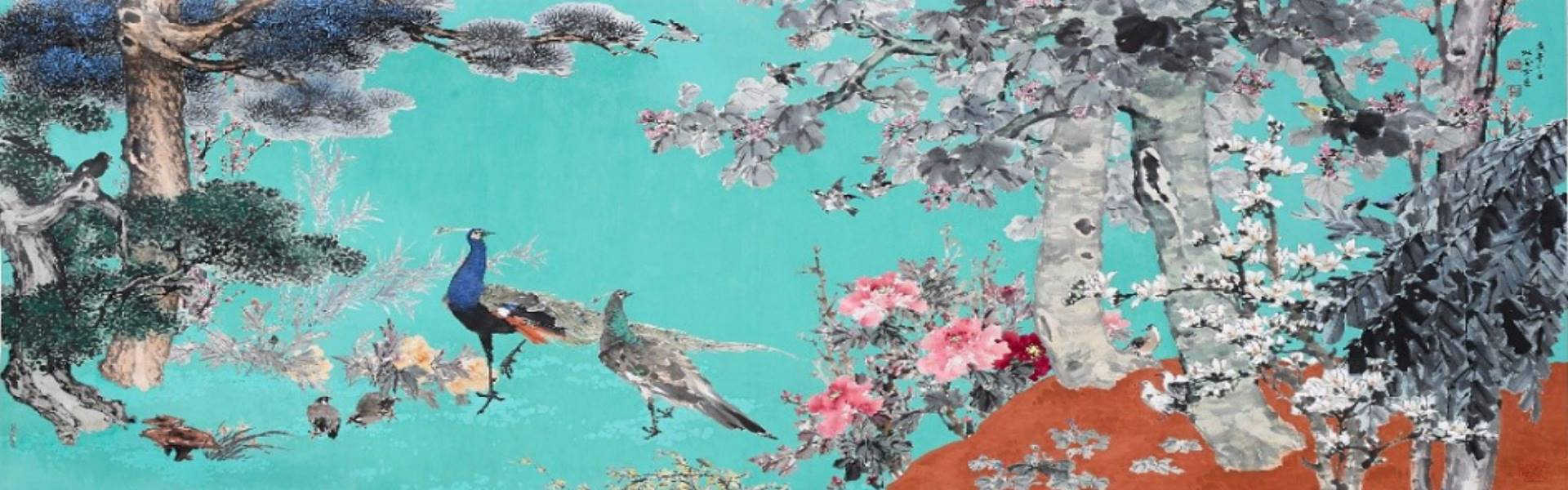 The Thundering Fame of Color Ink Painting—Du Deng-yin 95-year-old Retrospective Exhibition「open a new window」