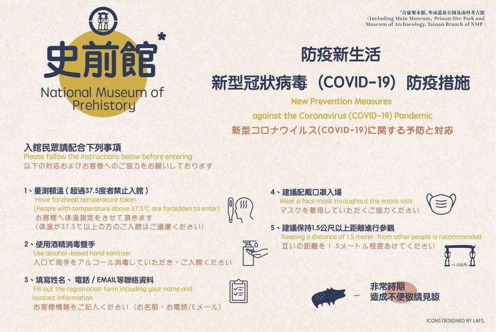 防疫新生活-新型冠狀病毒(COVID-19)防疫措施