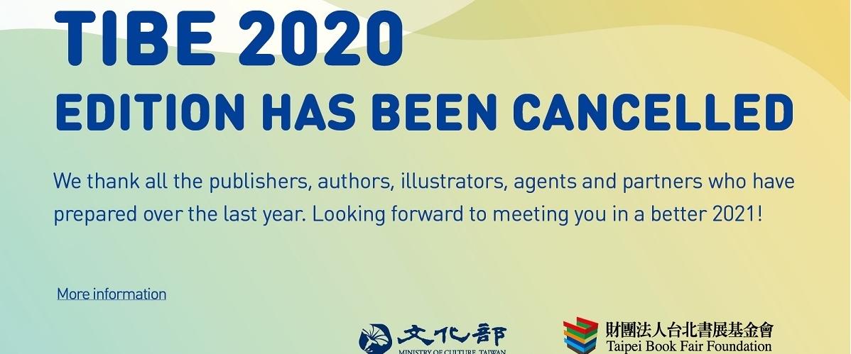 Se suspende este año la Feria Internacional de Libros de Taipéi 2020 por COVID-19[另開新視窗]