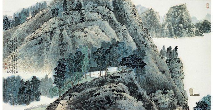 JIANG Jhao-shen〈Landscape〉