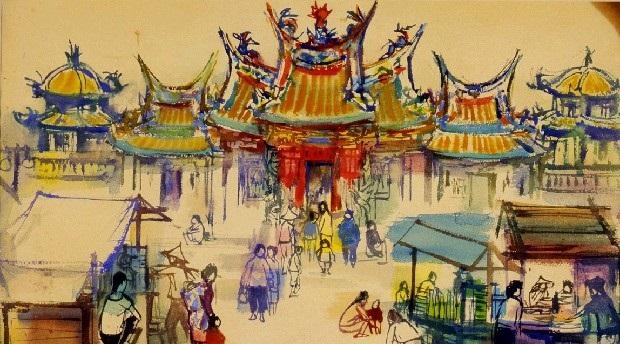 Artiste taiwanais d'après guerre | Shiy De-jinn[另開新視窗]