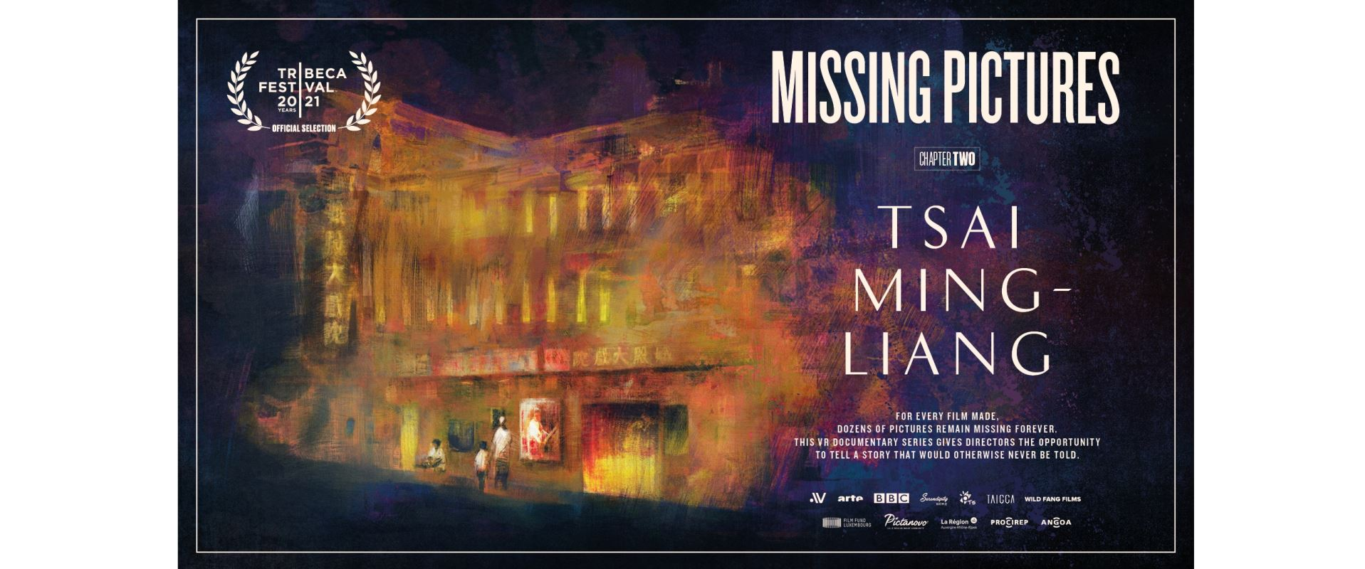 """""""Missing Pictures Episode 2: Tsai Ming-liang"""" is set to have its World Premiere at this year's Tribeca VIRTUAL ARCADE programopennewwindow"""