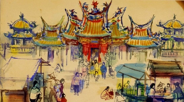 Pintor taiwanés de posguerra | Shiy De-jinn[另開新視窗]